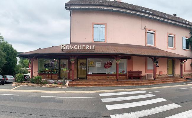 Boucherie à Mandeure